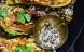 Pandestegt spidskål med flødestuvede linser