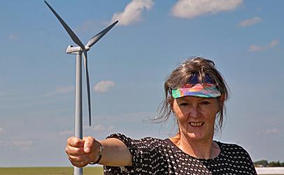 hvordan laver vindmøller energi