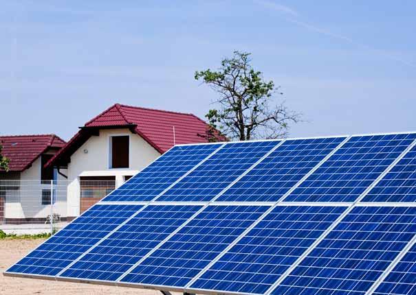 Billigt solcelleanlæg