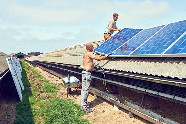 solceller gammel ordning
